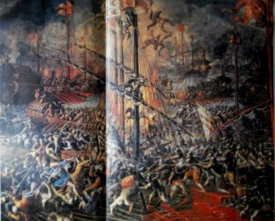 RELIGIÓN Y PODER: LA CRUZ Y LA MEDIA LUNA FRENTE A FRENTE EN EL GOLFO DE LEPANTO (1571)